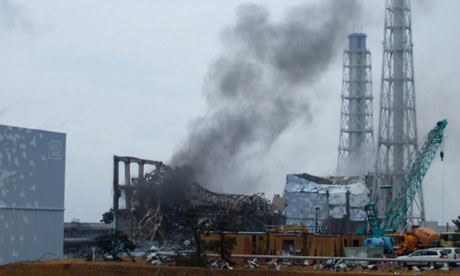 Fukushima Nuclear Plant disaster photo